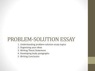 summary essay thesis statement